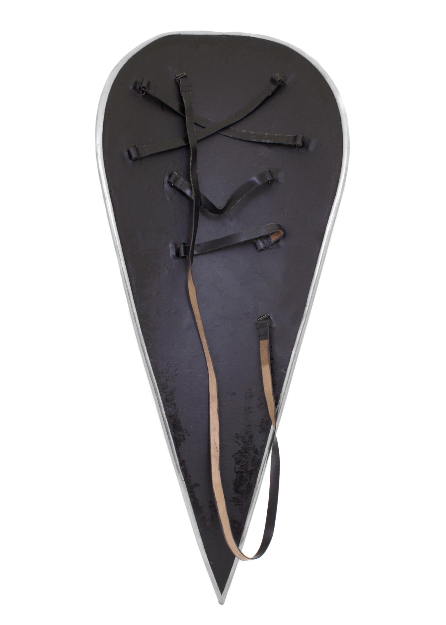 normannenschild mit kreuz schild mittelalter kreuzritter schaukampf larp ebay. Black Bedroom Furniture Sets. Home Design Ideas