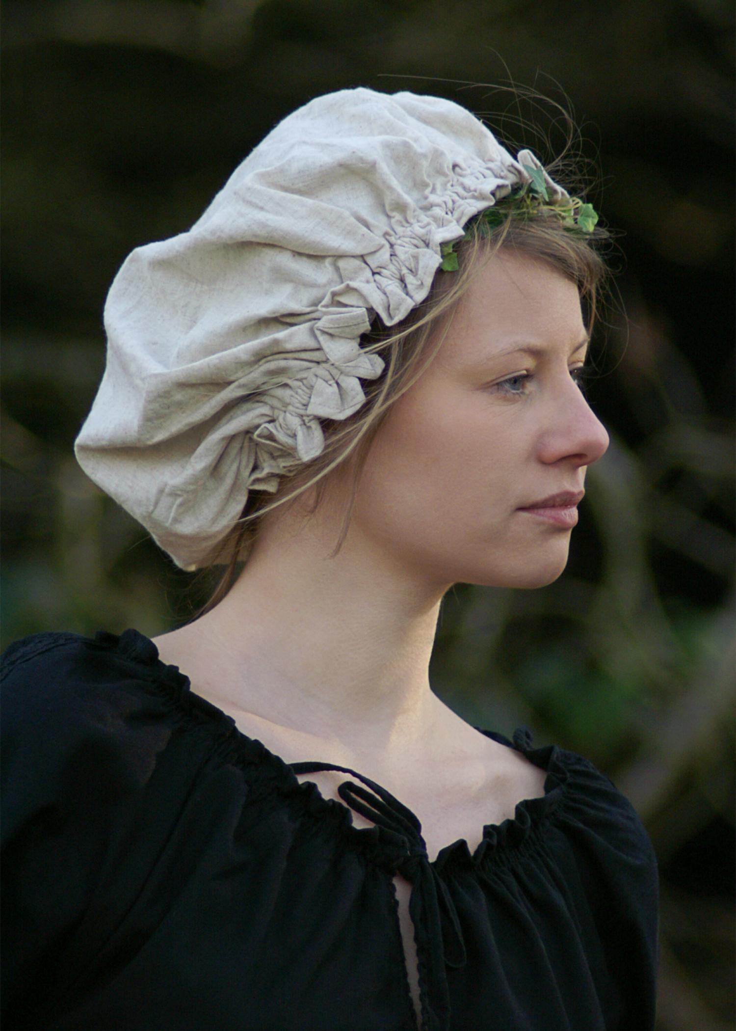 Mittelalterliche Damenhaube Mittelalter Haube LARP Western Mütze div Farben