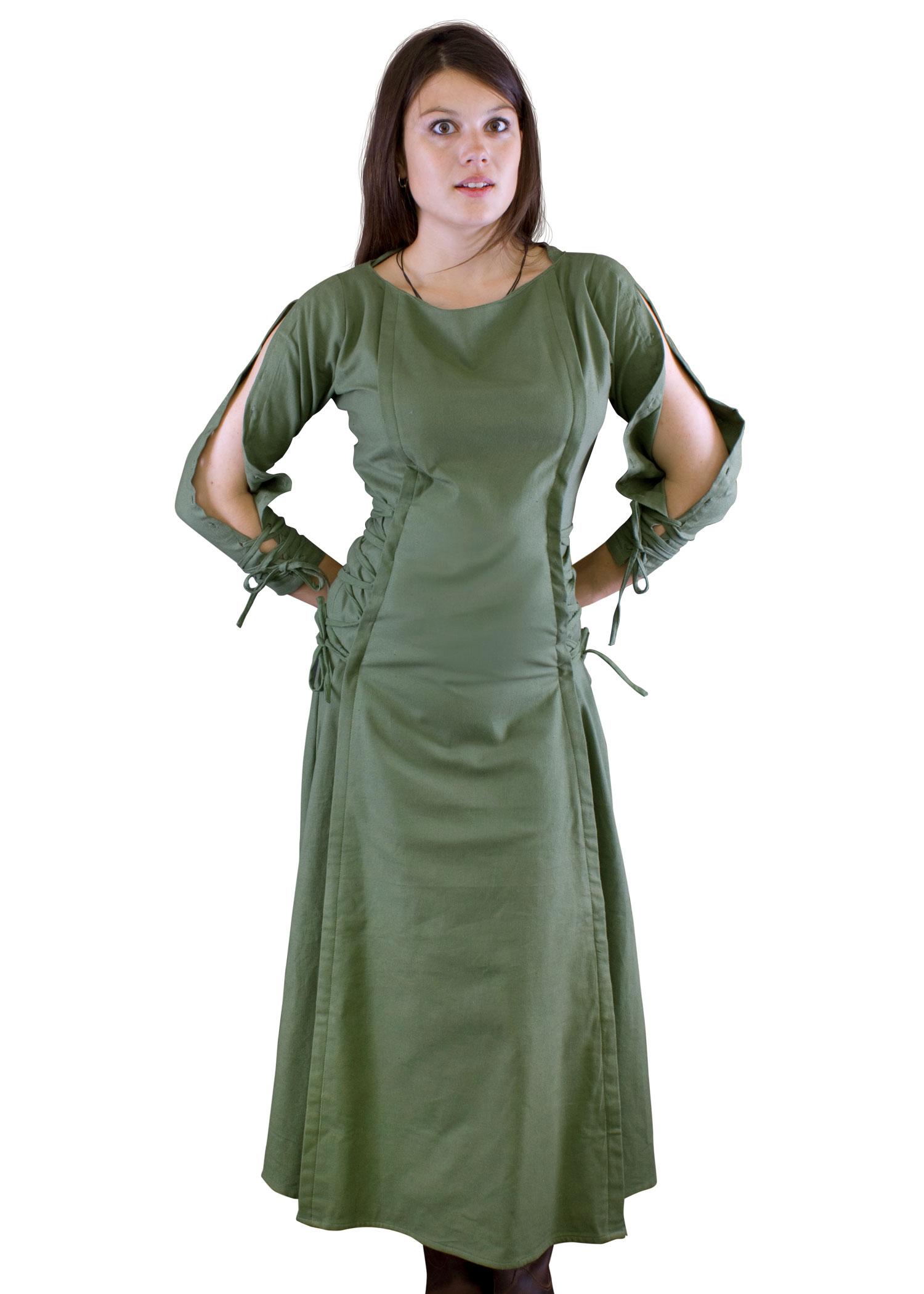 Details zu Priesterin-Kleid, olivgrün