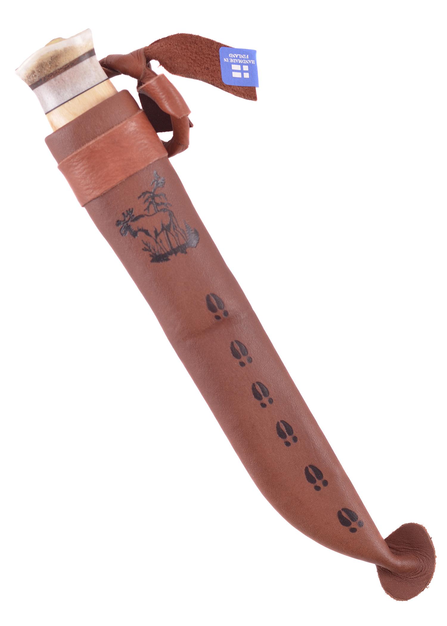 Wood-Jewel Finnenmesser Jagdmesser Vuolu 10 Sami Messer