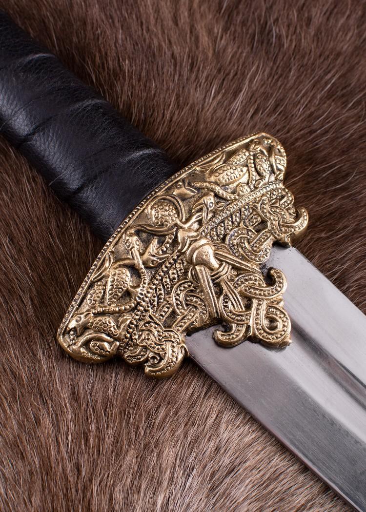 Battle Merchant Lederscheide für Dybekschwert Schwertscheide Mittelalter LARP