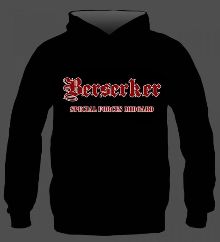 Hoodie: Berserker Special Forces Midgard