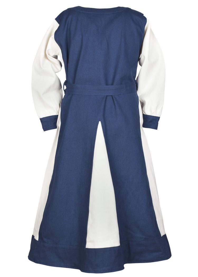 Viking Dress Solveig for Children, blue/natural-coloured - Battle ...