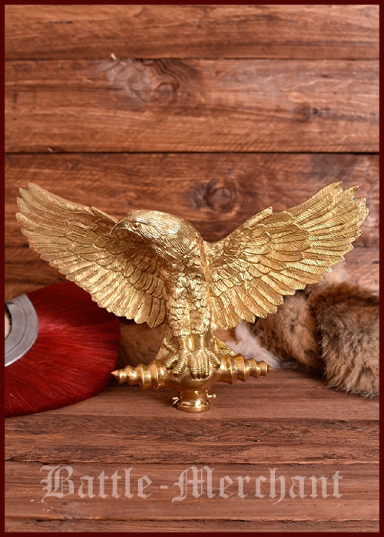 Aquila - Standard, Roman Legionary Eagle without shaft, Romans ...