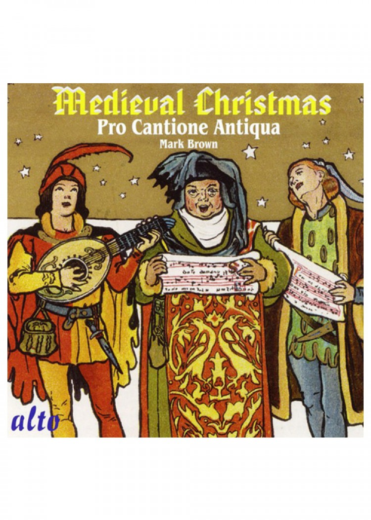 Mittelalter Weihnachtslieder.Medieval Christmas Pro Cantione Antiqua Cd