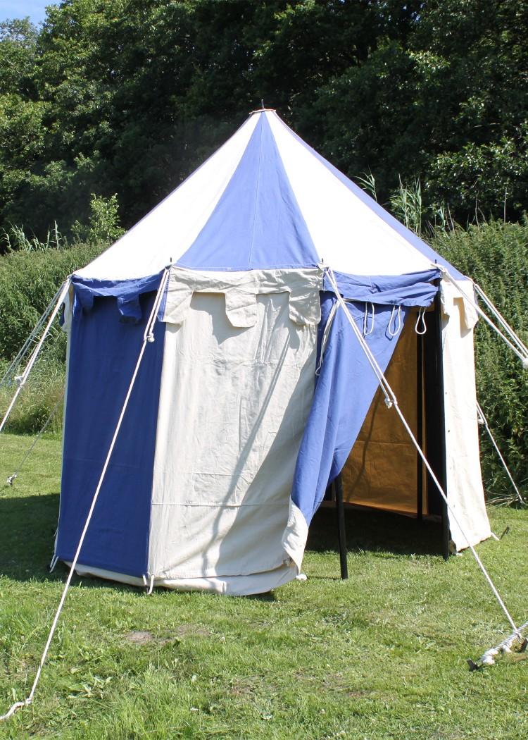 Round Medieval Tent Johann 3 m in Diameter & Round Medieval Tent Johann 3 m Knightu0027s Tent Pavilion - Battle ...
