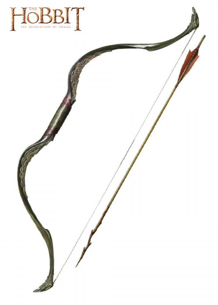Lord Of The Rings Elvish Bow And Arrow