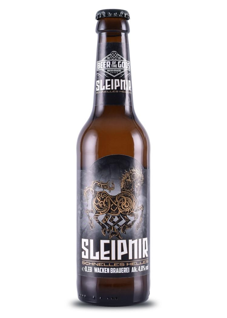 Sleipnir - Schnelles Helles, 0 33l Bottle - Wacken Brewery